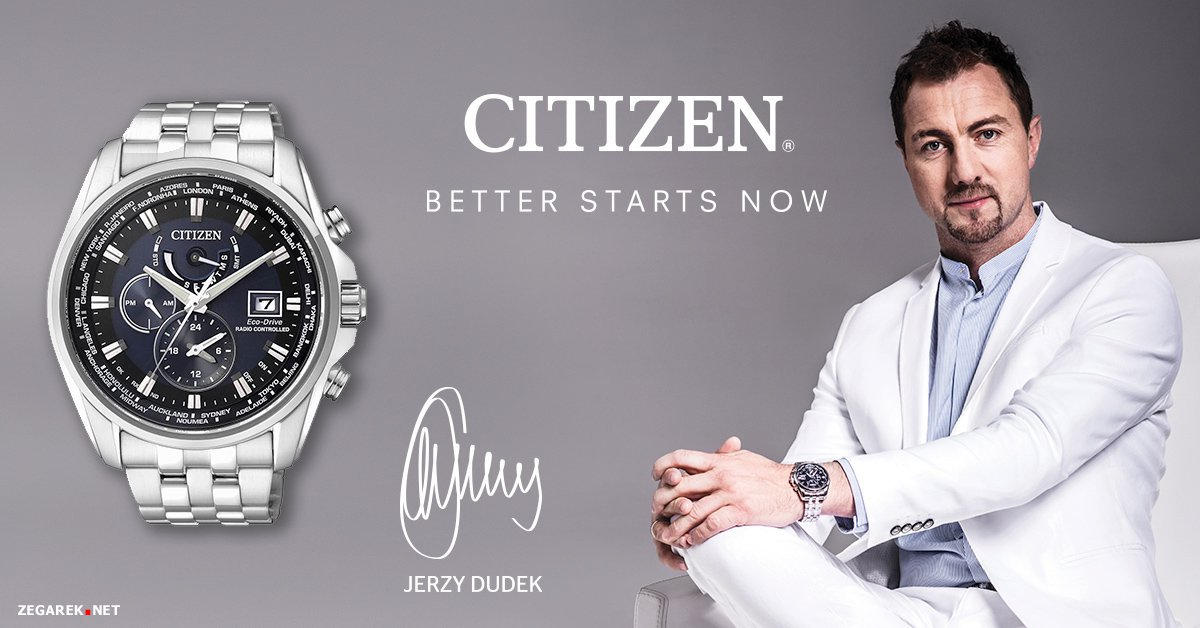 Jerzy Dudek ambasadorem marki Citizen
