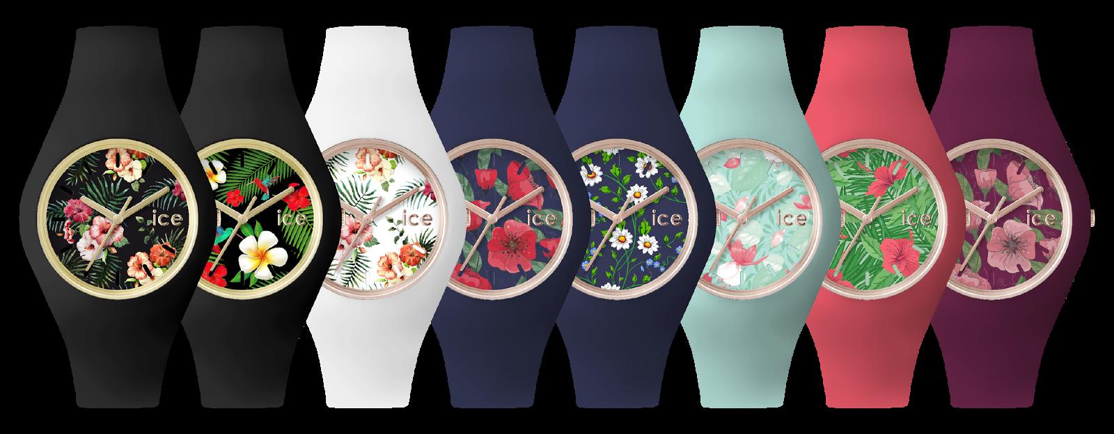 Kolekcja zegarków ICE Watch - Ice Flower.