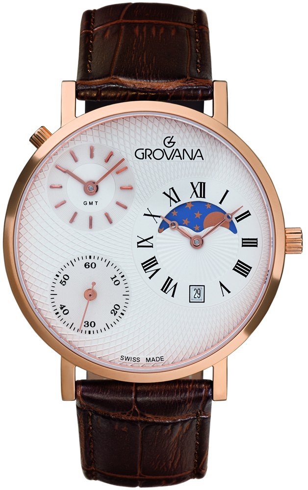 Grovana 1711.1562 - zegarek męski