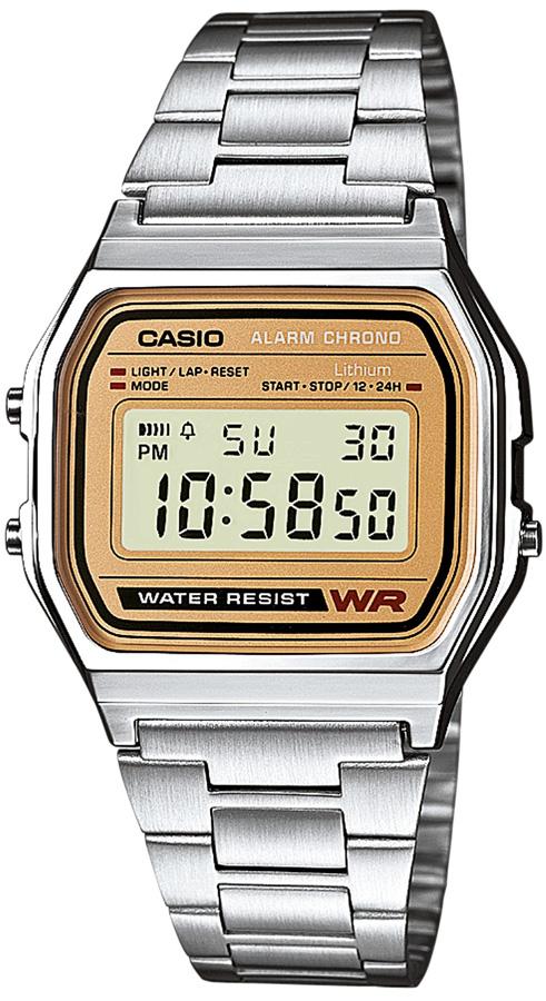 Casio A158WEA-9EF - zegarek męski
