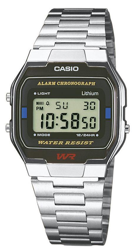 Casio Vintage A163WA-1QES - zegarek męski