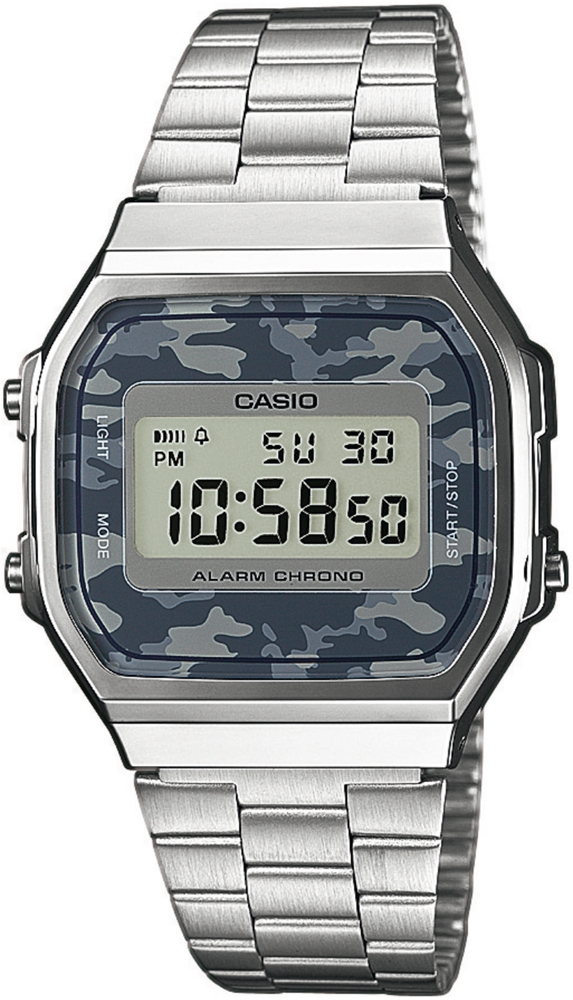 Casio A168WEC-1EF - zegarek męski