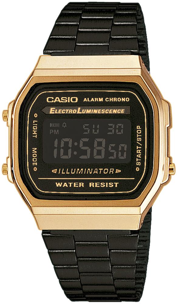 Casio A168WEGB-1BEF - zegarek męski