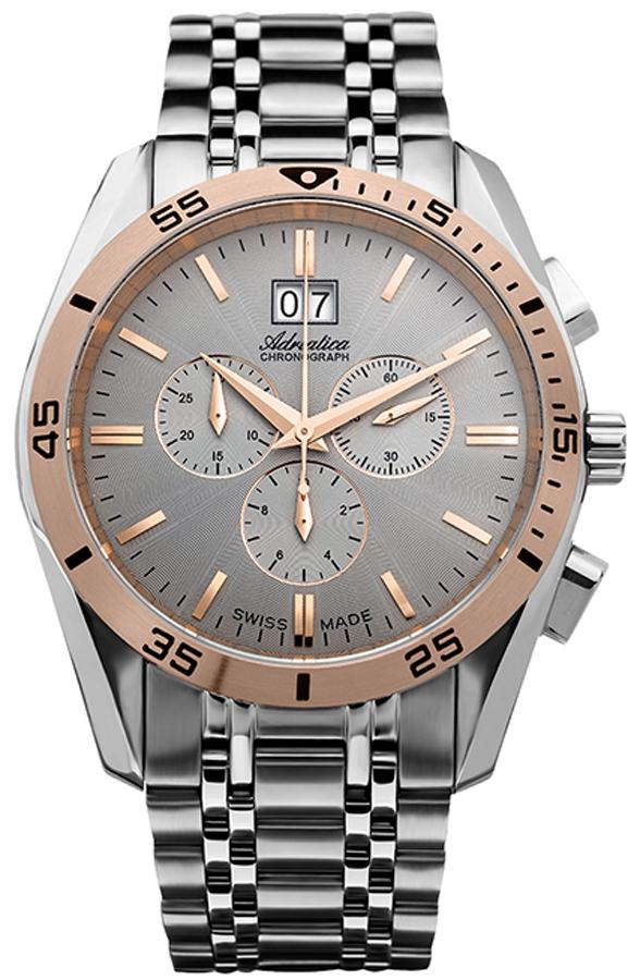 Adriatica A8202.R117CH - zegarek męski