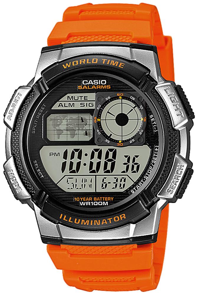 Casio AE-1000W-4BVEF - zegarek męski
