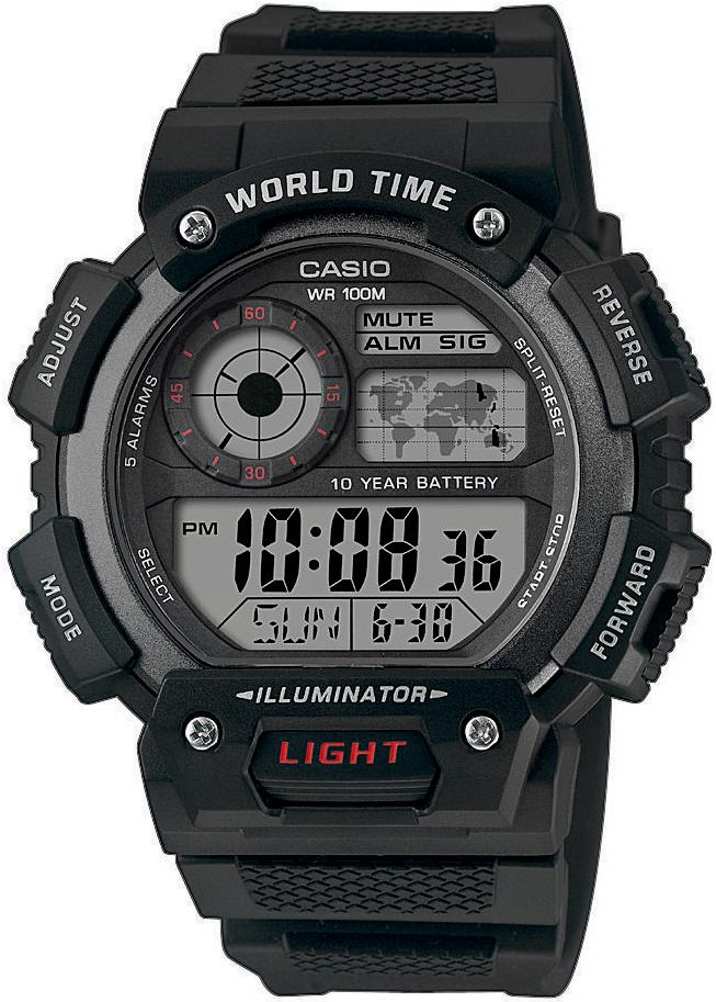Casio AE-1400WH-1AVEF - zegarek męski