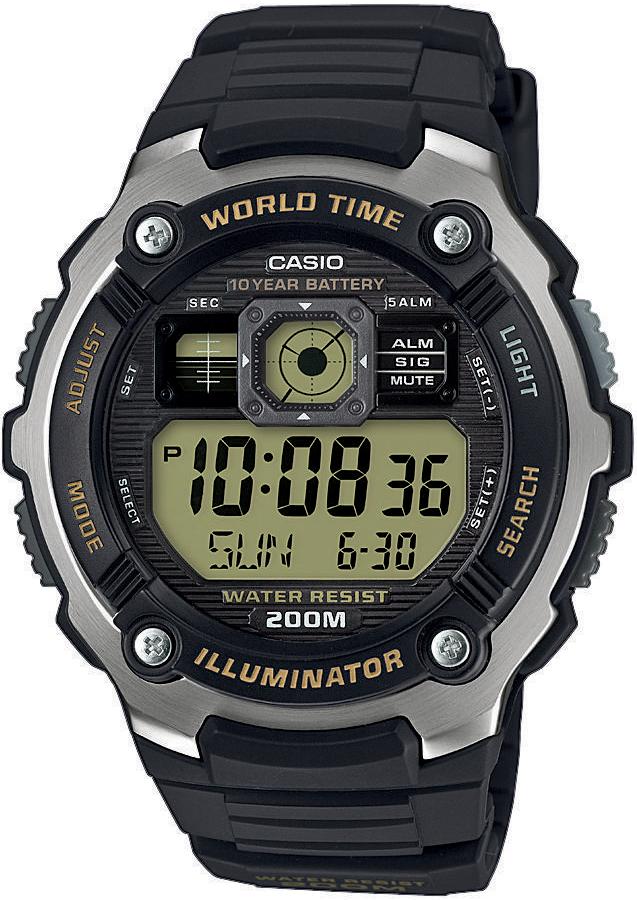 Casio AE-2000W-9AVEF - zegarek męski