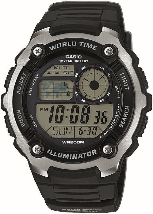 Casio AE-2100W-1AVEF - zegarek męski