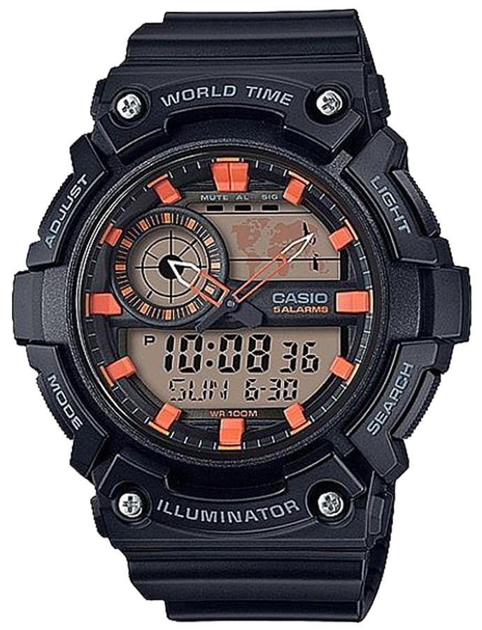 Casio AEQ-200W-1A2VEF - zegarek męski