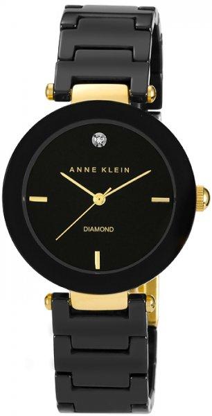 Anne Klein AK-1018BKBK - zegarek damski