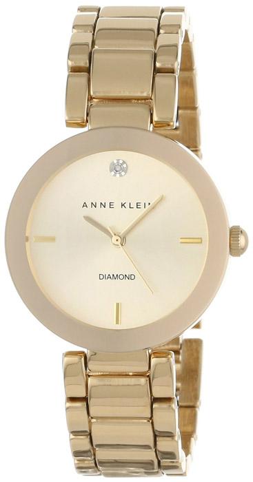 Anne Klein AK-1362CHGB - zegarek damski
