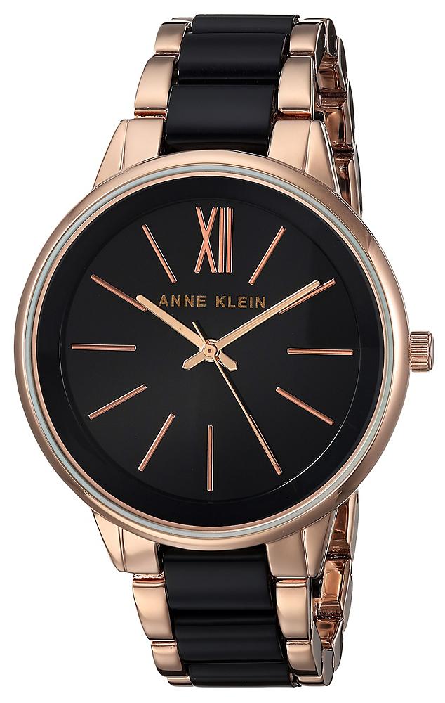 Anne Klein AK-1412BKRG - zegarek damski
