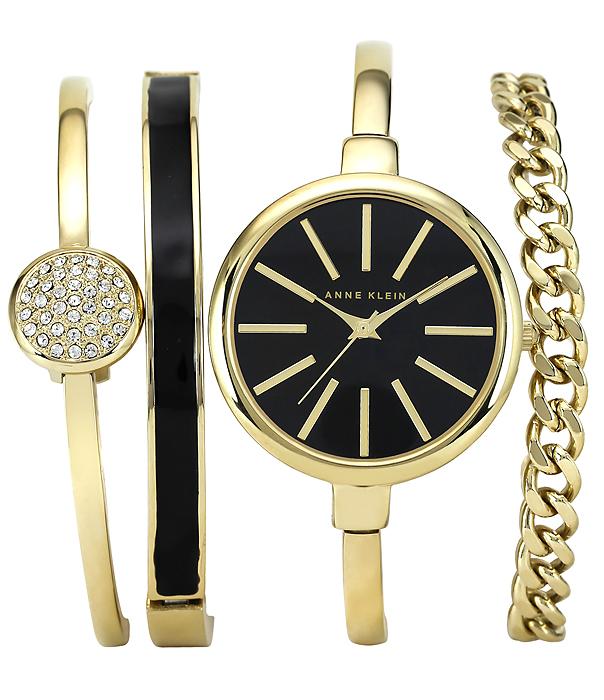 Anne Klein AK-1470GBST - zegarek damski