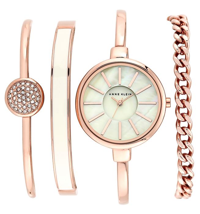 Anne Klein AK-1470RGST - zegarek damski