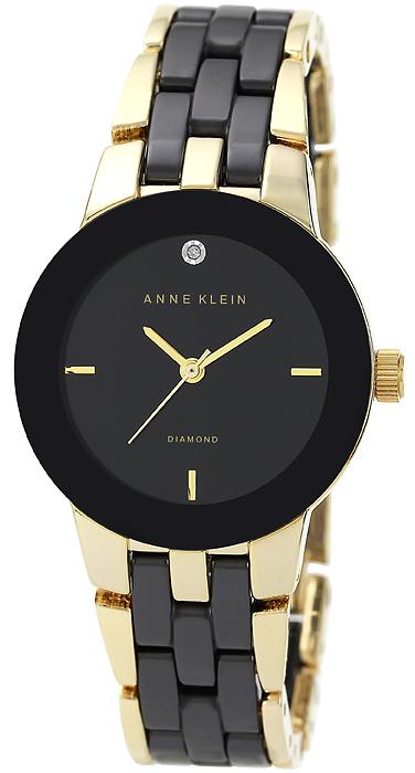 Anne Klein AK-1610BKGB - zegarek damski