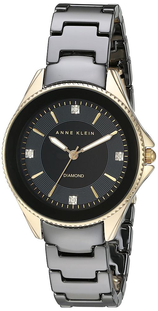 Anne Klein AK-2390BKGB - zegarek damski