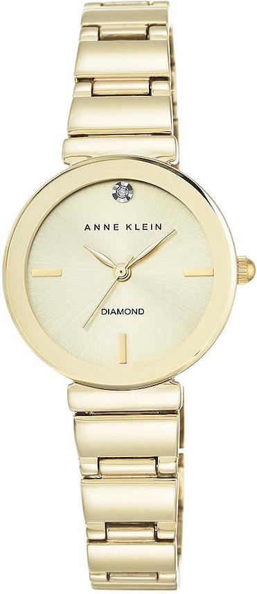 Anne Klein AK-2434CHGB - zegarek damski