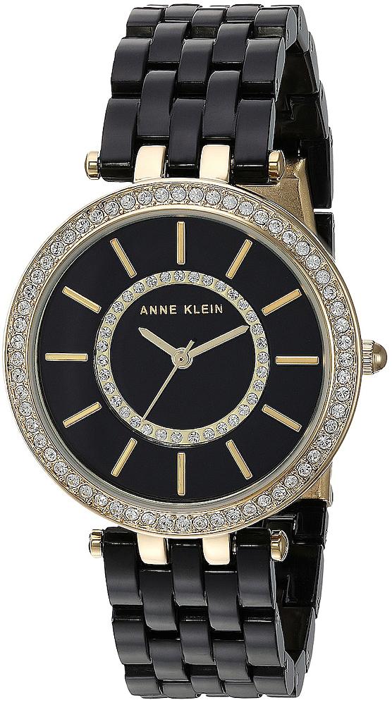 Anne Klein AK-2620BKGB - zegarek damski