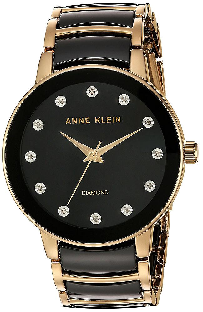 Anne Klein AK-2672BKGB - zegarek damski