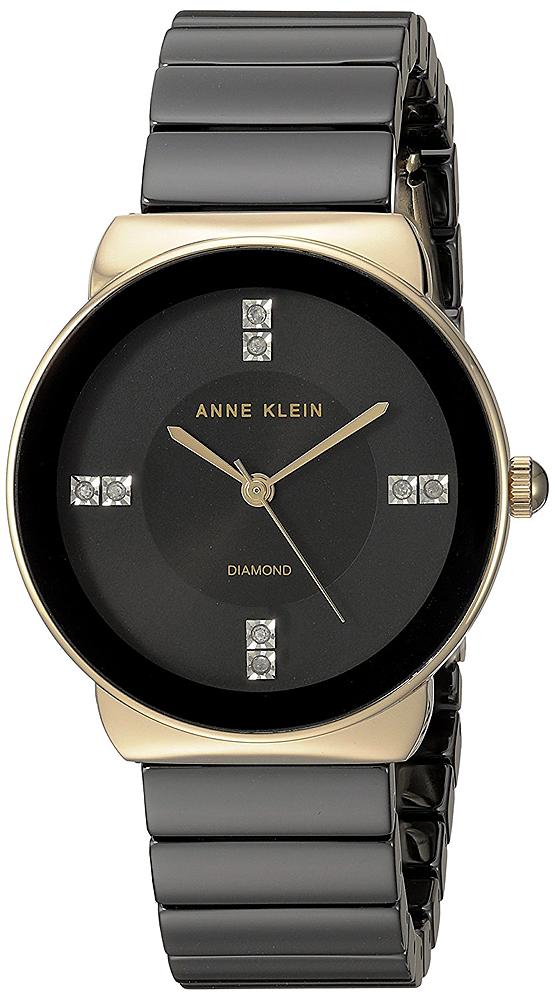 Anne Klein AK-2714BKGB - zegarek damski