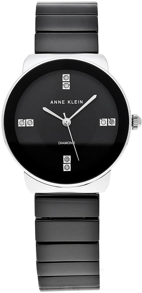 Anne Klein AK-2715BKSV - zegarek damski