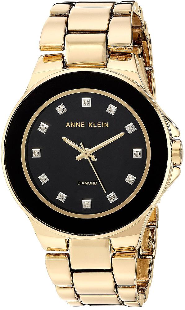 Anne Klein AK-2754BKGB - zegarek damski