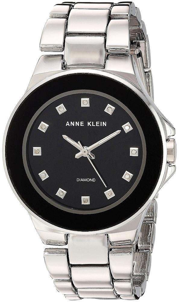 Anne Klein AK-2755BKSV - zegarek damski