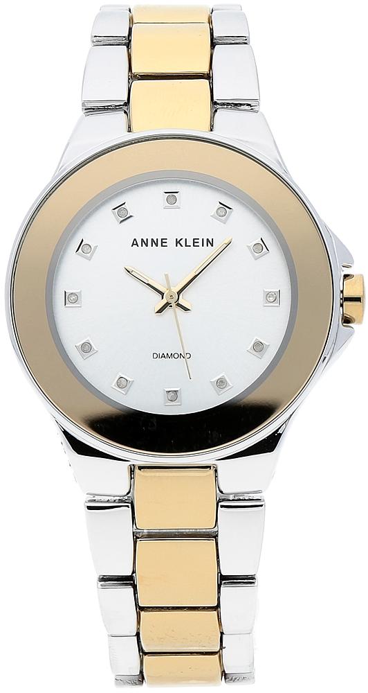 Anne Klein AK-2755SVTT - zegarek damski
