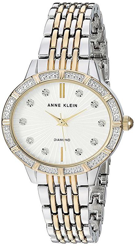 Anne Klein AK-2783SVTT - zegarek damski