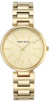 Anne Klein AK-2786CHGB - zegarek damski
