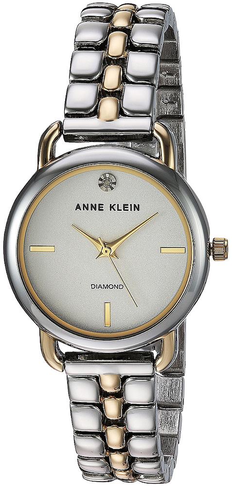 Anne Klein AK-2795SVTT - zegarek damski
