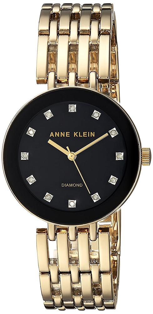 Anne Klein AK-2944BKGB - zegarek damski