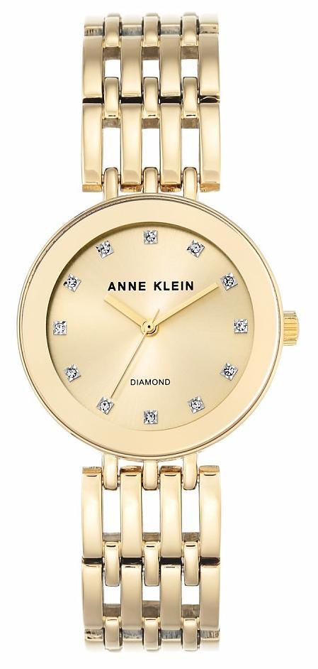 Anne Klein AK-2944CHGB - zegarek damski