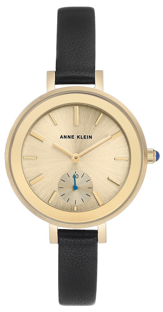 Anne Klein AK-2992CHBK - zegarek damski