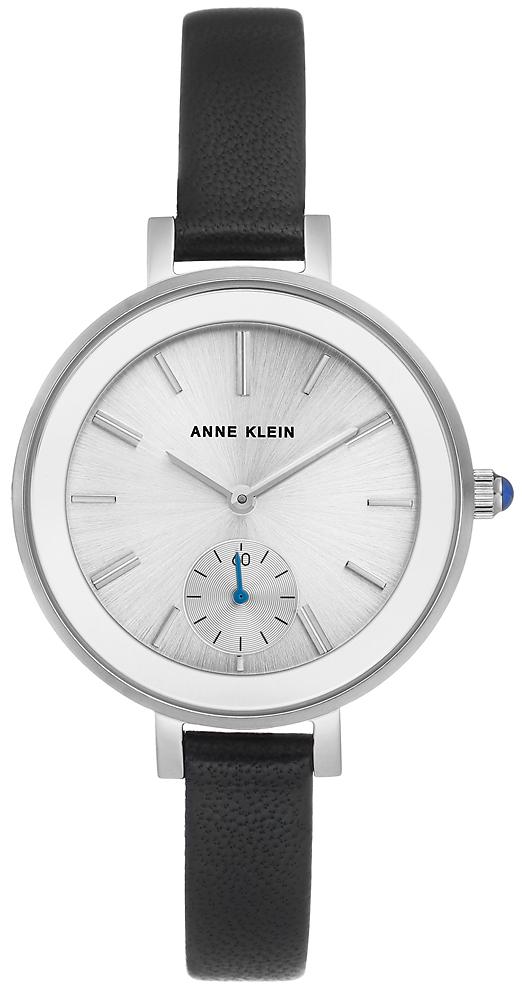 Anne Klein AK-2993SVBK - zegarek damski