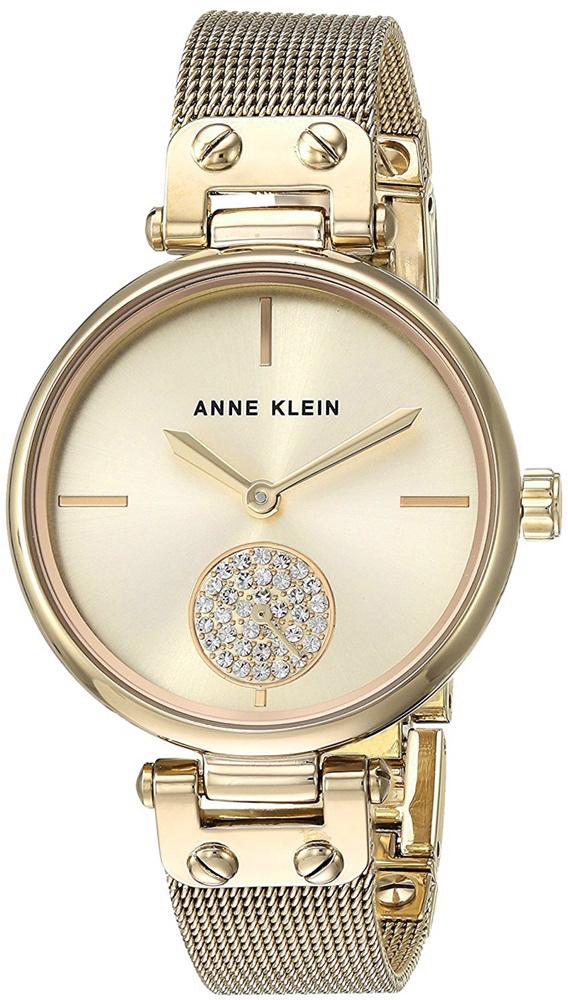 Anne Klein AK-3000CHGB - zegarek damski