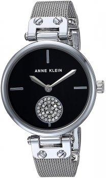 Anne Klein AK-3001BKSV - zegarek damski