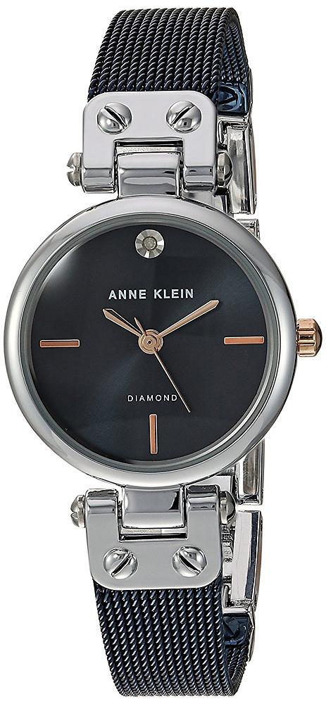 Anne Klein AK-3003BLRT - zegarek damski