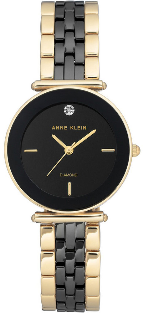 Anne Klein AK-3158BKGB - zegarek damski