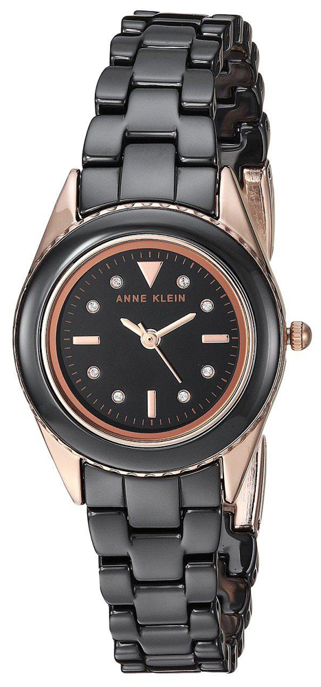 Anne Klein AK-3164BKRG - zegarek damski