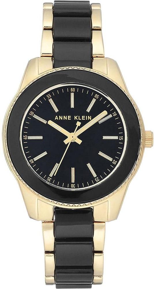 Anne Klein AK-3214BKGB - zegarek damski