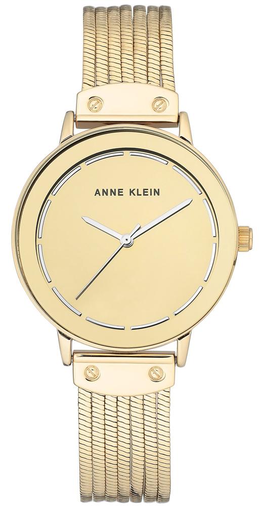 Anne Klein AK-3222GMGB - zegarek damski