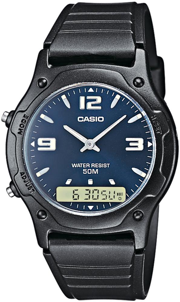 Casio AW-49HE-2AV - zegarek męski