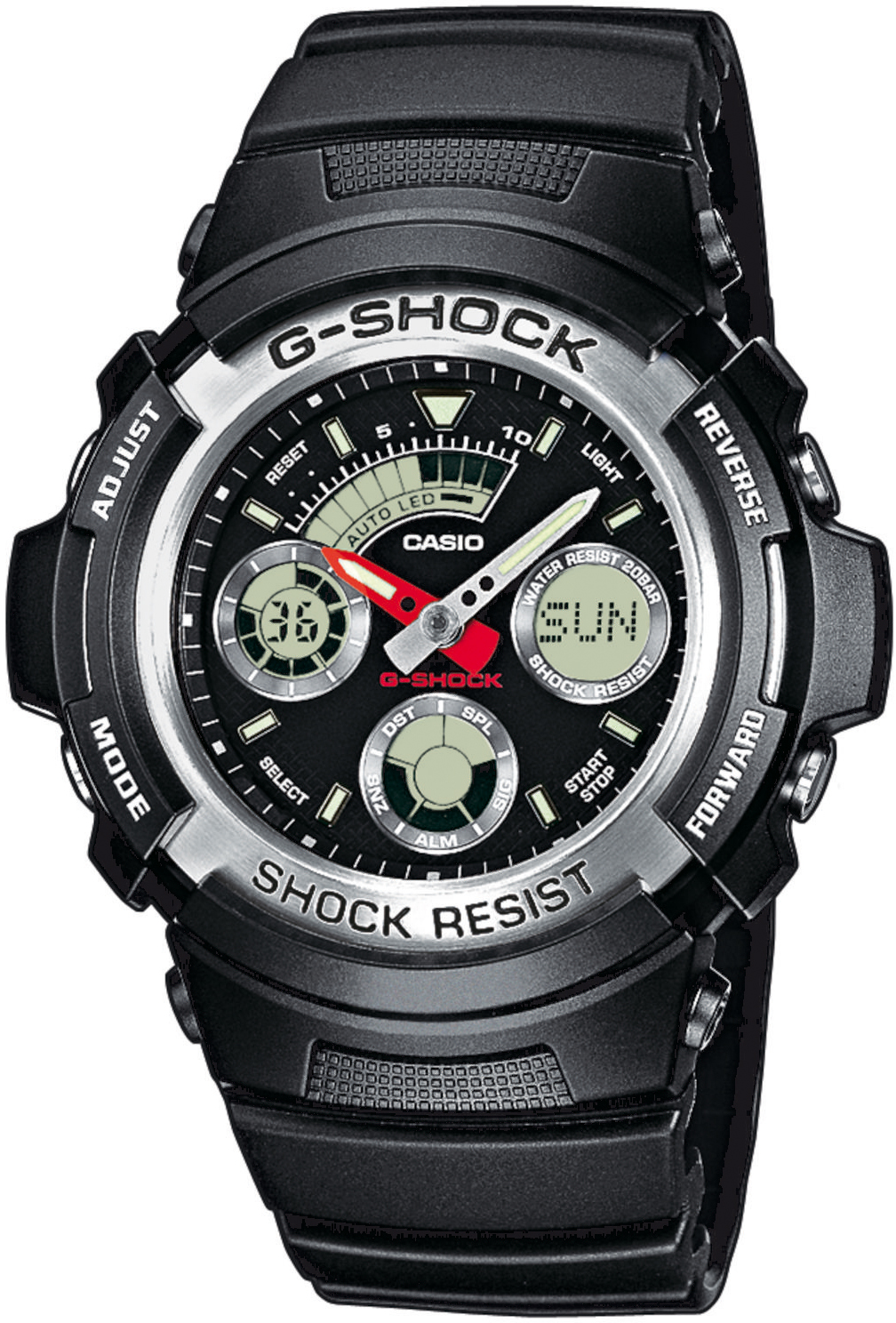 G-SHOCK AW-590-1AER - zegarek męski
