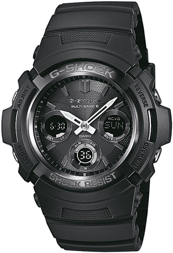 Casio G-SHOCK AWG-M100B-1AER - zegarek męski