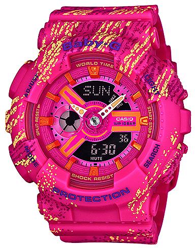 Baby-G BA-110TX-4AER - zegarek damski