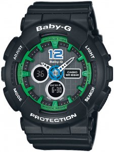 Baby-G BA-120-1BER - zegarek damski