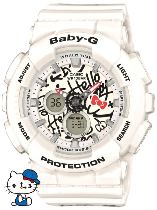 Casio Baby-G BA-120KT-7AER - zegarek damski