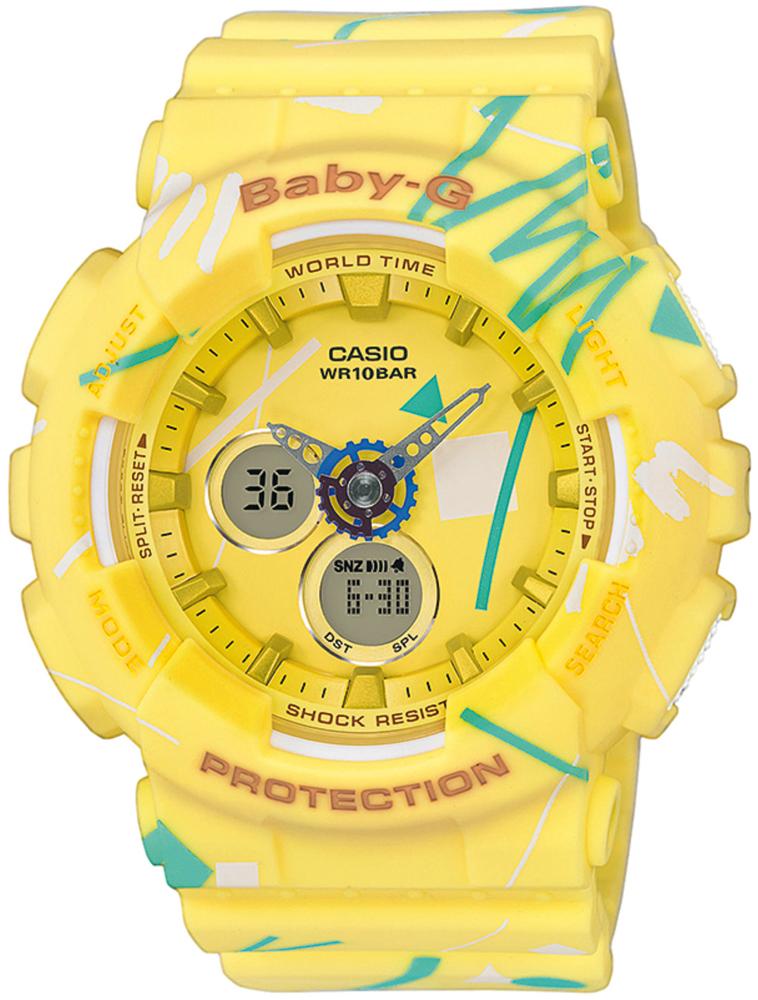 Casio Baby-G BA-120SC-9AER - zegarek damski