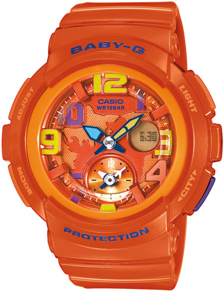 Baby-G BGA-190-4BER - zegarek damski